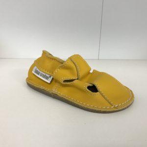 Tomar capačky letné s gumou – žlté