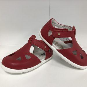 Bobux sandále Zap – Red, veľ.20-22