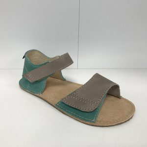 OrtoPlus sandálky Mirrisa zeleno šedé