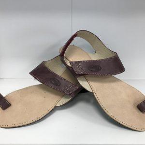 OrtoPlus sandálky Dione (tmavá čokoláda)