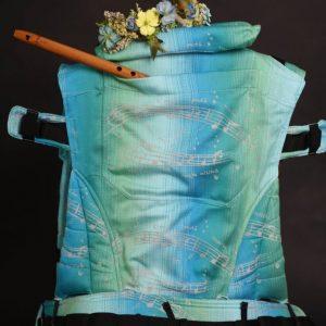 Nosič Rischino Flexible Rosička modro – zelená dúha