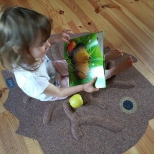 RootyRug Kids Hedgie koreňový koberec