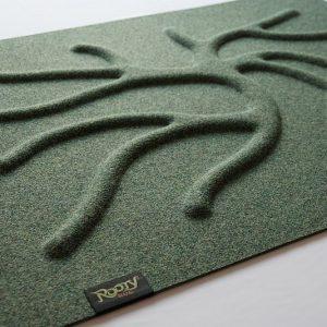RootyRug Home koreňový koberec – Moss Green
