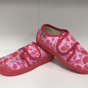 Boty Beda BF 0001/SN/1W ružový motýl