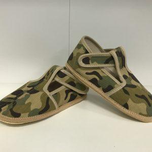 Papuče Beda BF 060010/W/SLIM vojenské