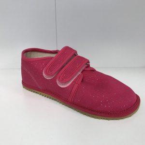 Papuče Beda BF 060010/W ružové trblietky