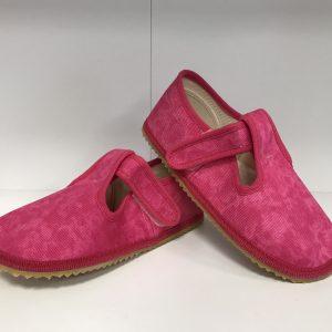 Papuče Beda BF 060010/W ružová batika