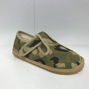 Papuče Beda BF 060010/W vojenské