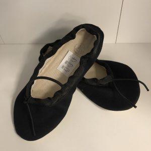 Wins baletné textilné cvičky Gábi čierne