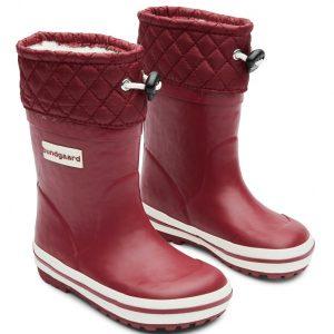 Bundgaard zateplené gumáky Short Sailor Rubber Boot Warm Bordo