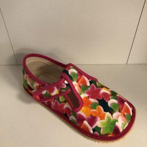 Papuče Beda BF 060010/W farebný cukrík