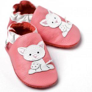 Capačky Liliputi – Ružové s mačiatkom