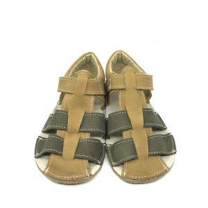 EF Barefoot sandálky Olive