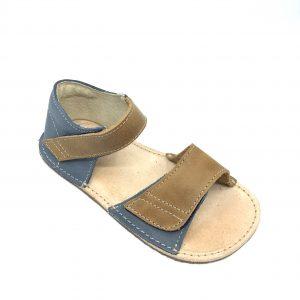 OKbarefoot sandálky Mirrisa hnedo modré