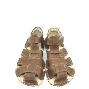 OKbarefoot sandálky Palm hnedé