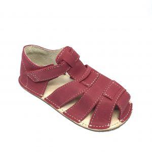 OKbarefoot sandálky Palm červené