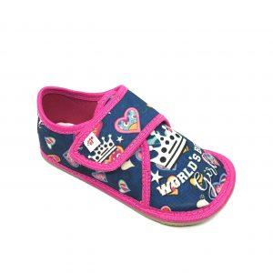EF papuče Barefoot 395 World girl