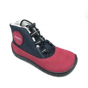 Fare Bare zateplené čierno-červené B5543241