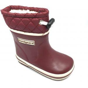 Bundgaard zateplené gumáky Short Sailor Rubber Boot Warm Bordeaux