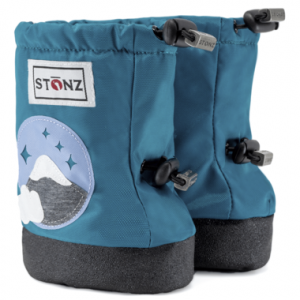 Stonz baby booties Mountain Teal
