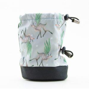Stonz baby booties Magic Deer Print green/grey