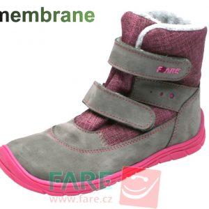 Fare Bare zateplené sivo-ružové B5541262-2