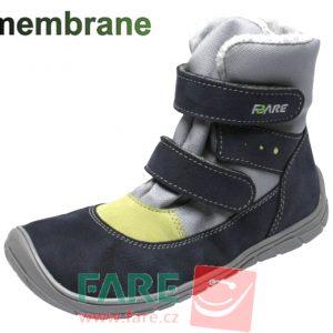 Fare Bare zateplené čierno-sivo-zelené B5541261-2