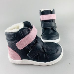 Baby Bare Shoes – Febo Winter Sparkle Black ASF