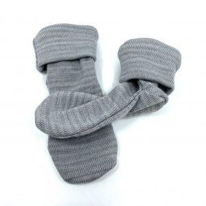 Crawler merino ponožky tenké detské – sivé