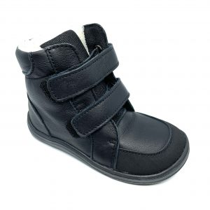 Baby Bare Shoes – Febo Winter Black ASF