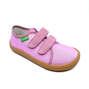 Froddo Barefoot plátenky G1700283 Pink