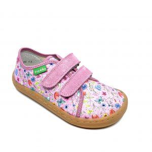 Froddo Barefoot plátenky G1700283-1 Pink+
