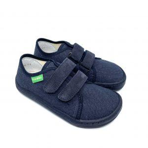 Froddo Barefoot plátenky G1700283-5 Dark Blue+