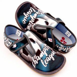 EF papuče Barefoot 395 Popiel Champion