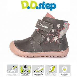 D.D. Step celoročné vysoké DPG121A-A063-904A – Dark Pink